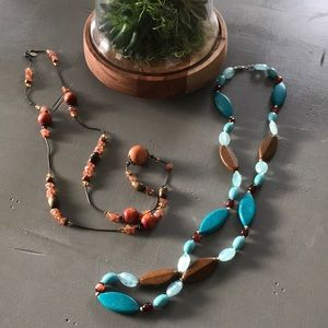 Accessories - Women's Long Beaded Necklaces